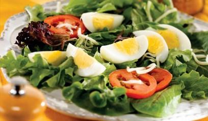 Mixed Green Egg Salad