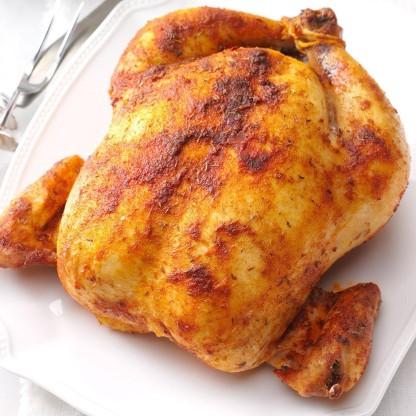savory roast chicken