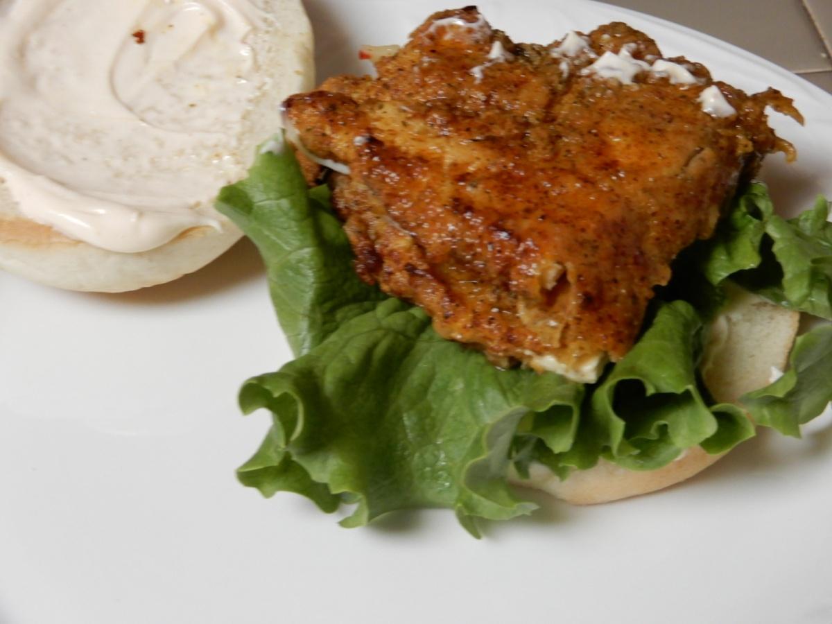 Spicy Fried ChickenSandwich