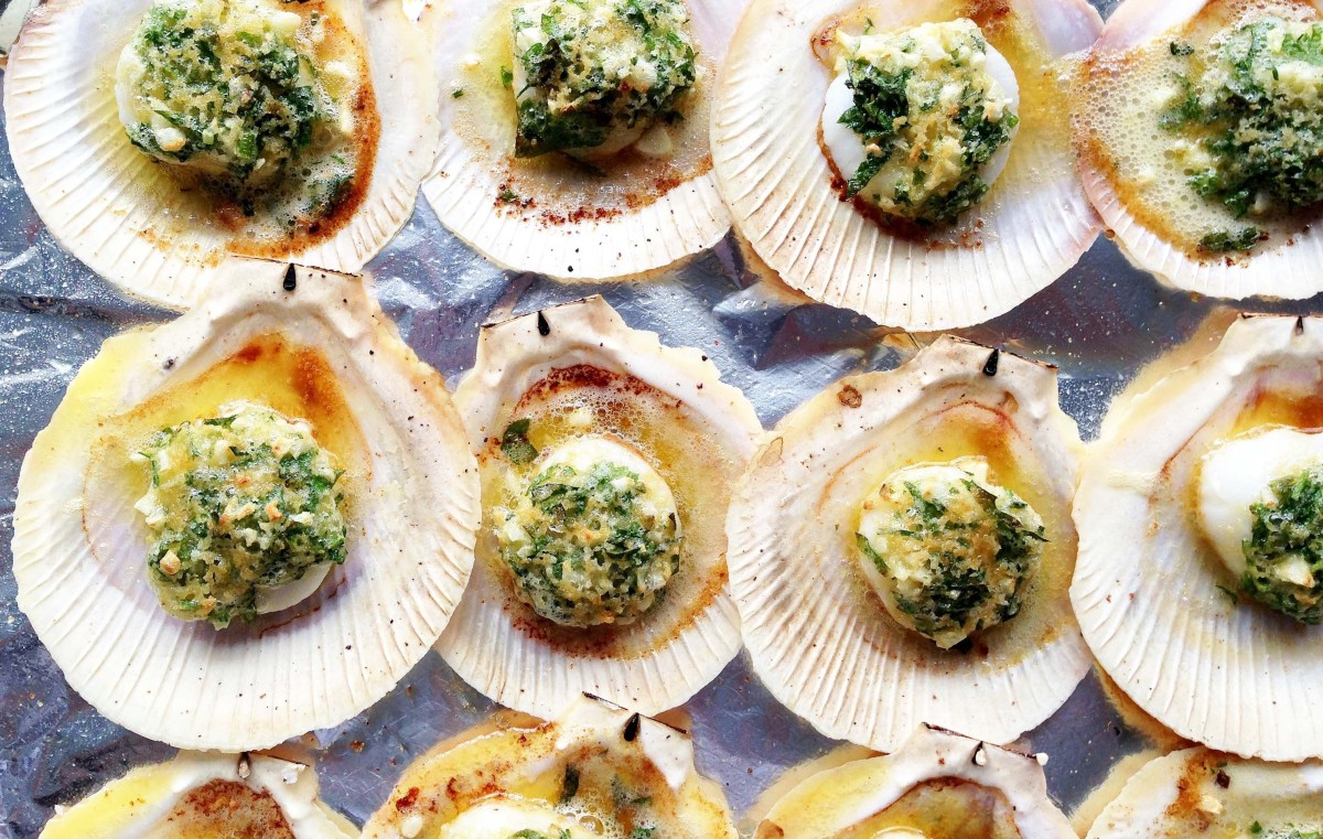The Way of Oven-Baked Scallops inShells