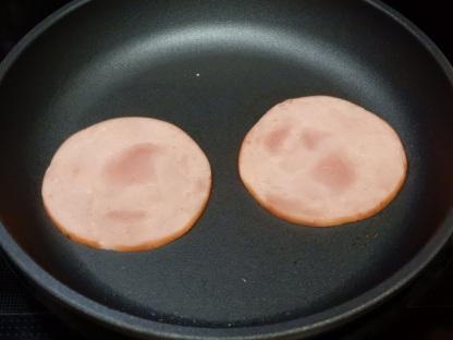 Ham & Egg Biscuit Sandwich (1)