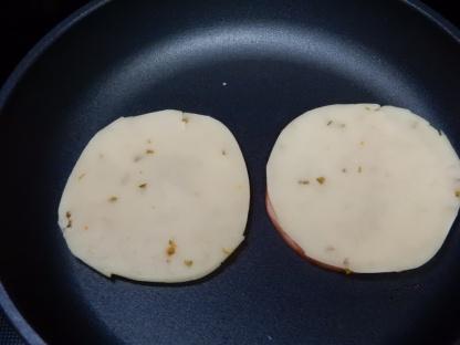 Ham & Egg Biscuit Sandwich (2)