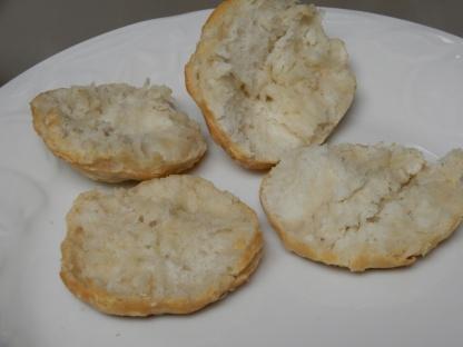 Ham & Egg Biscuit Sandwich (4)