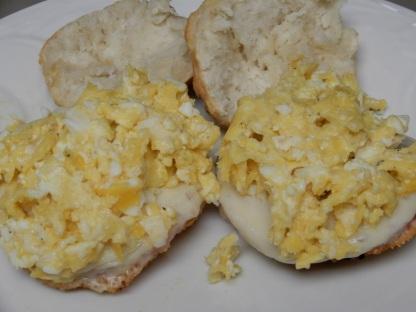 Ham & Egg Biscuit Sandwich (8)