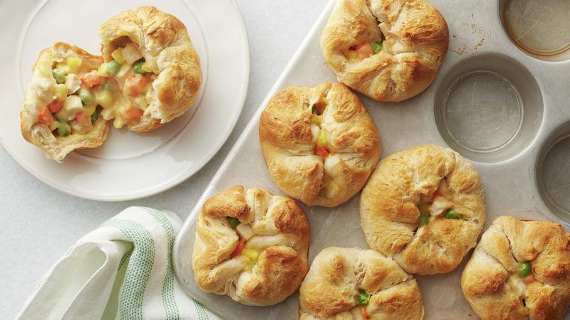 Sunday Chicken Biscuit Mini PotPies