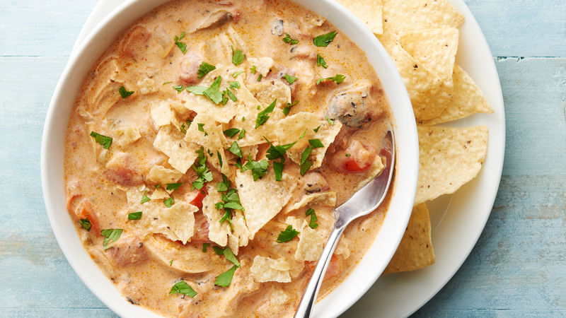 Slow-Cooker Spicy Ranch ChickenSoup