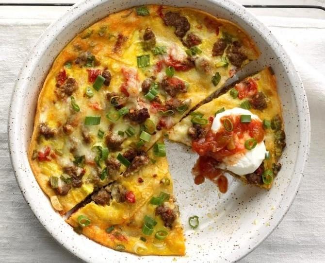 Tortilla Breakfast Bake