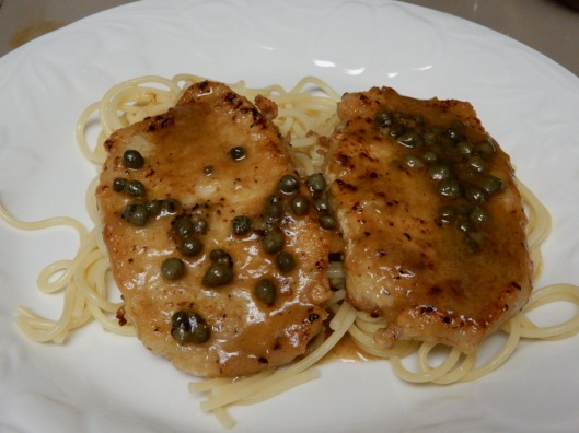 Buttery Lemon Pepper Pork Piccata (8)