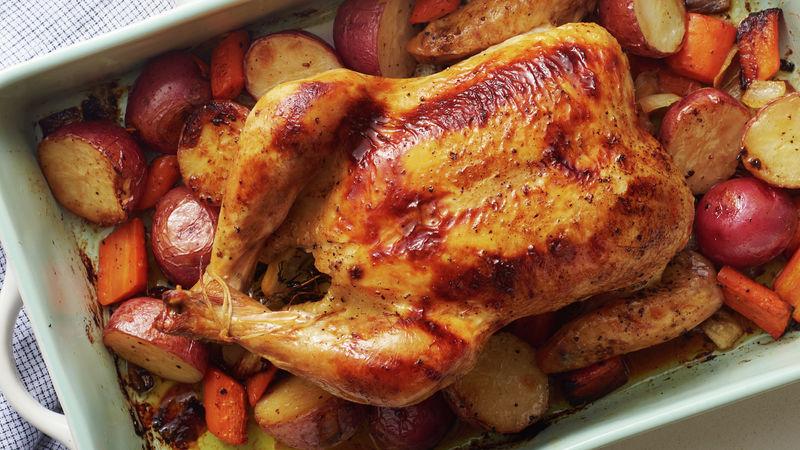 Lemon-Herb Roast ChickenDinner