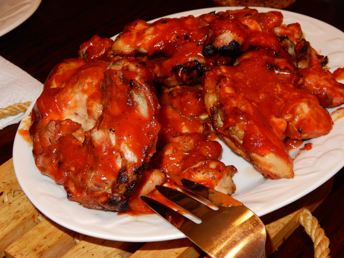 Barbecue Chicken with Golden Eagle Sauce