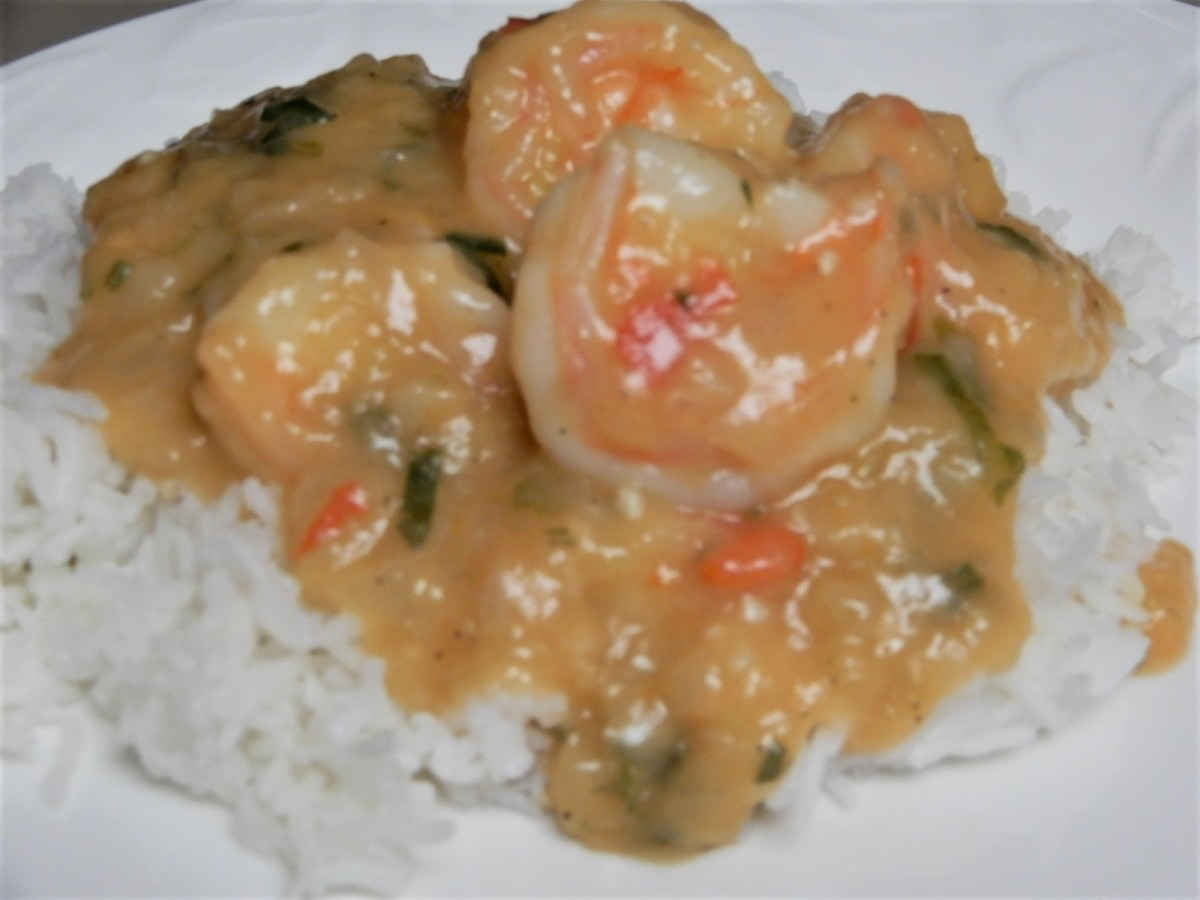 Louisiana Shrimp Etouffée 2
