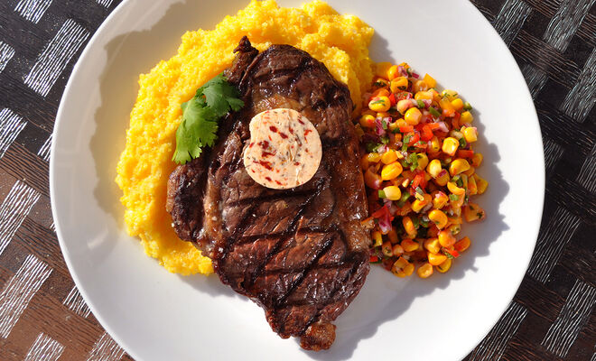 New Mexican Buffalo Steak