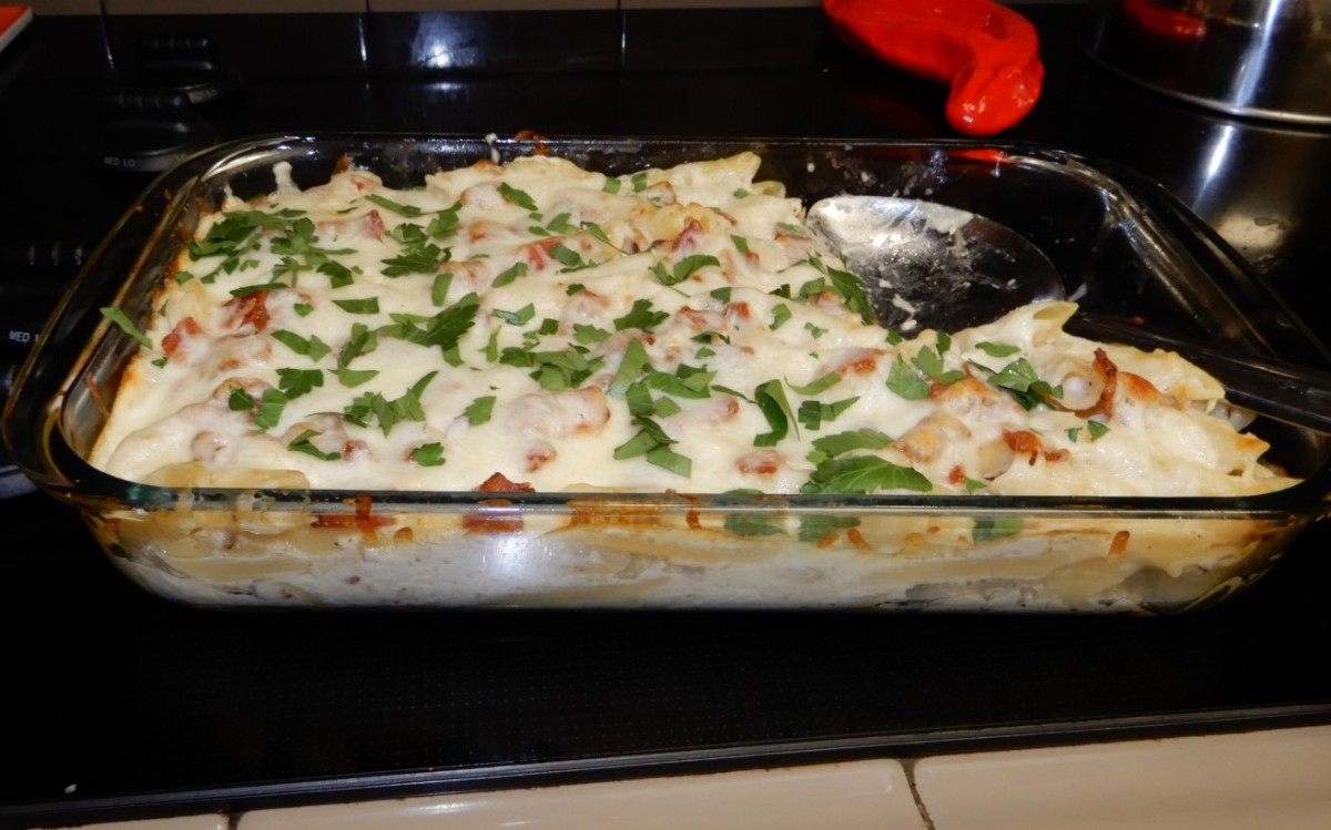 Bacon Chicken Ranch Casserole