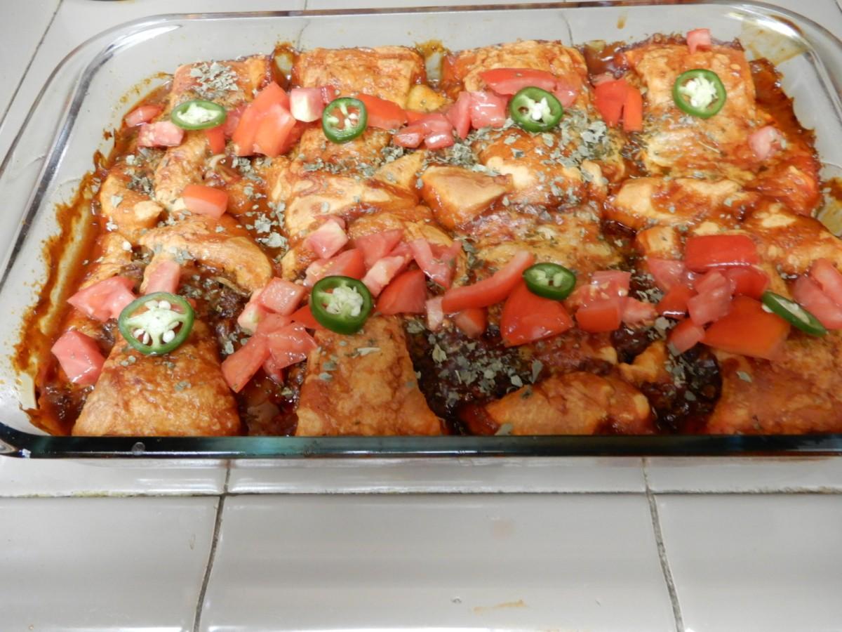 Spicy Crescent Enchiladas