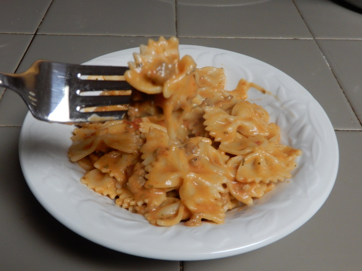 Amazing Two-Sauce Italian Butterfly Pasta