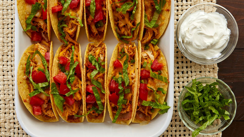 Stand Up Chicken Tacos