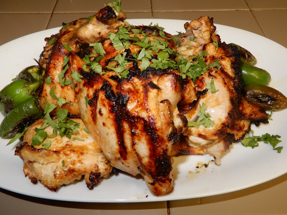 Tequila Kissed Marinated Grilled Chicken