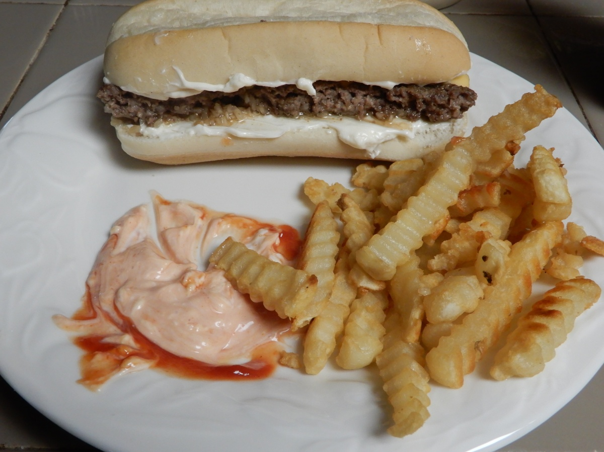 Awesome Oven Burgers