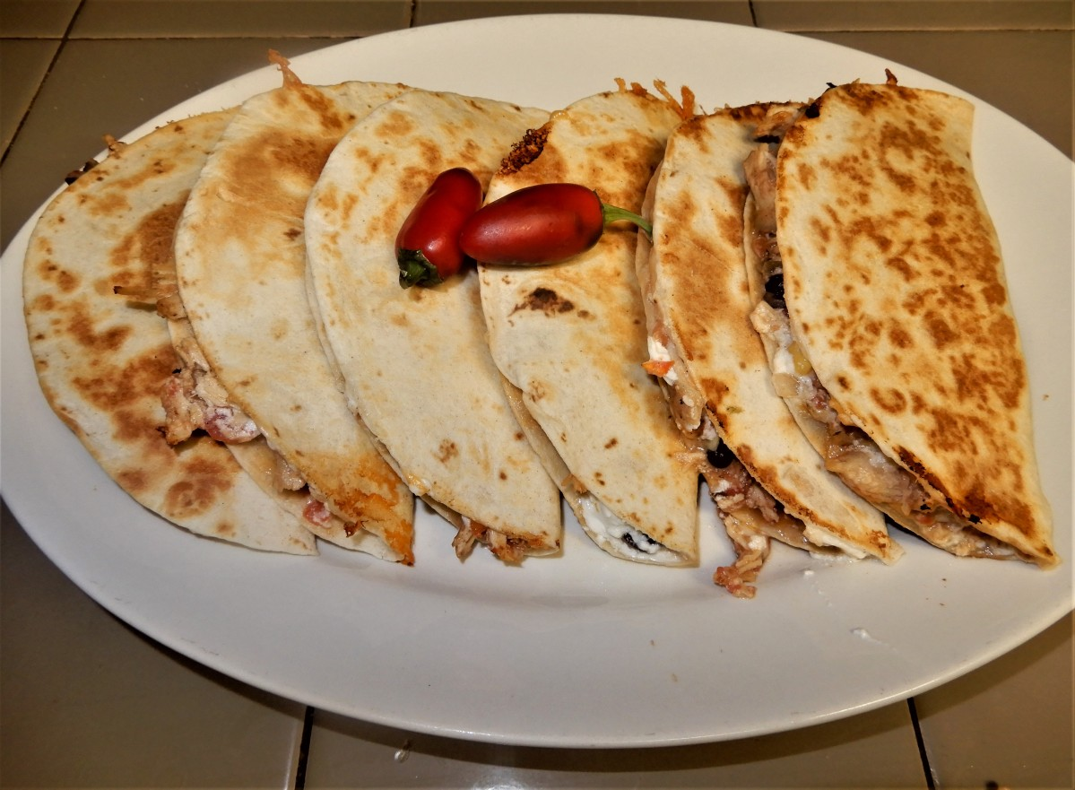 Gotta Love Quesadillas – Olé!