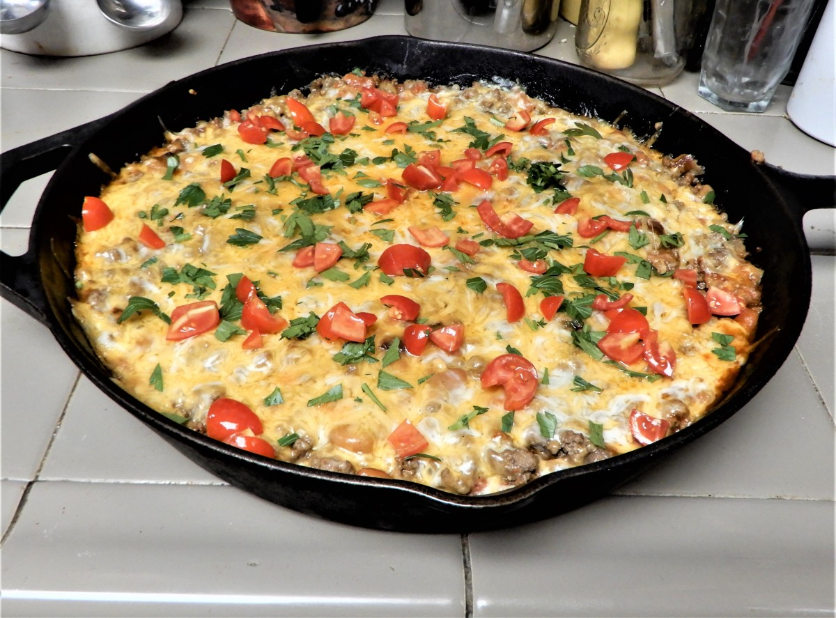 Say Happy Birthday with Tamale Skillet Pie