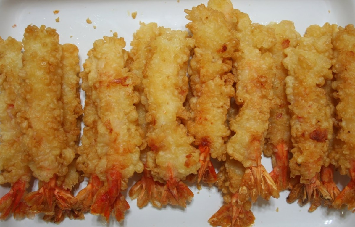 A Cheater's Guide to Tempura Shrimp