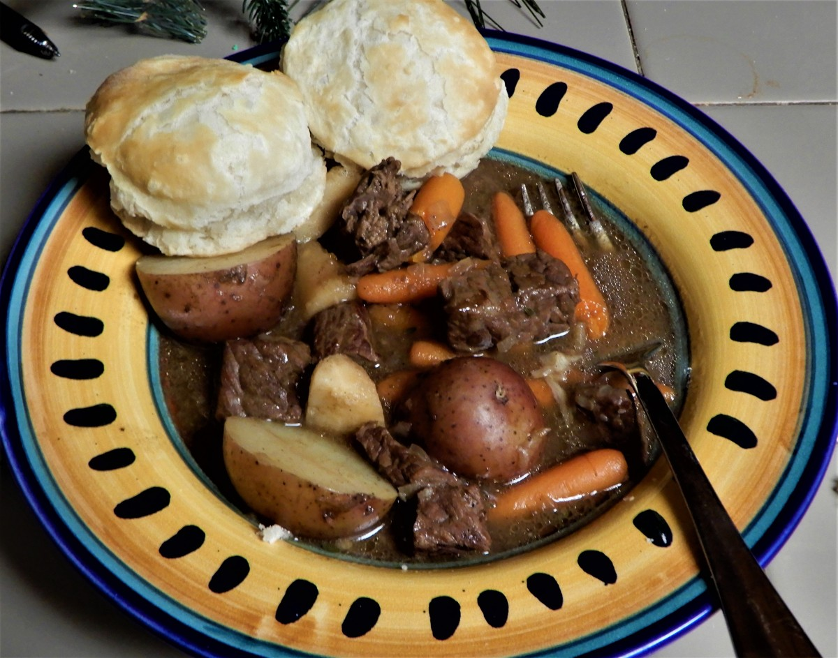Winter Vegetable Beef Stew