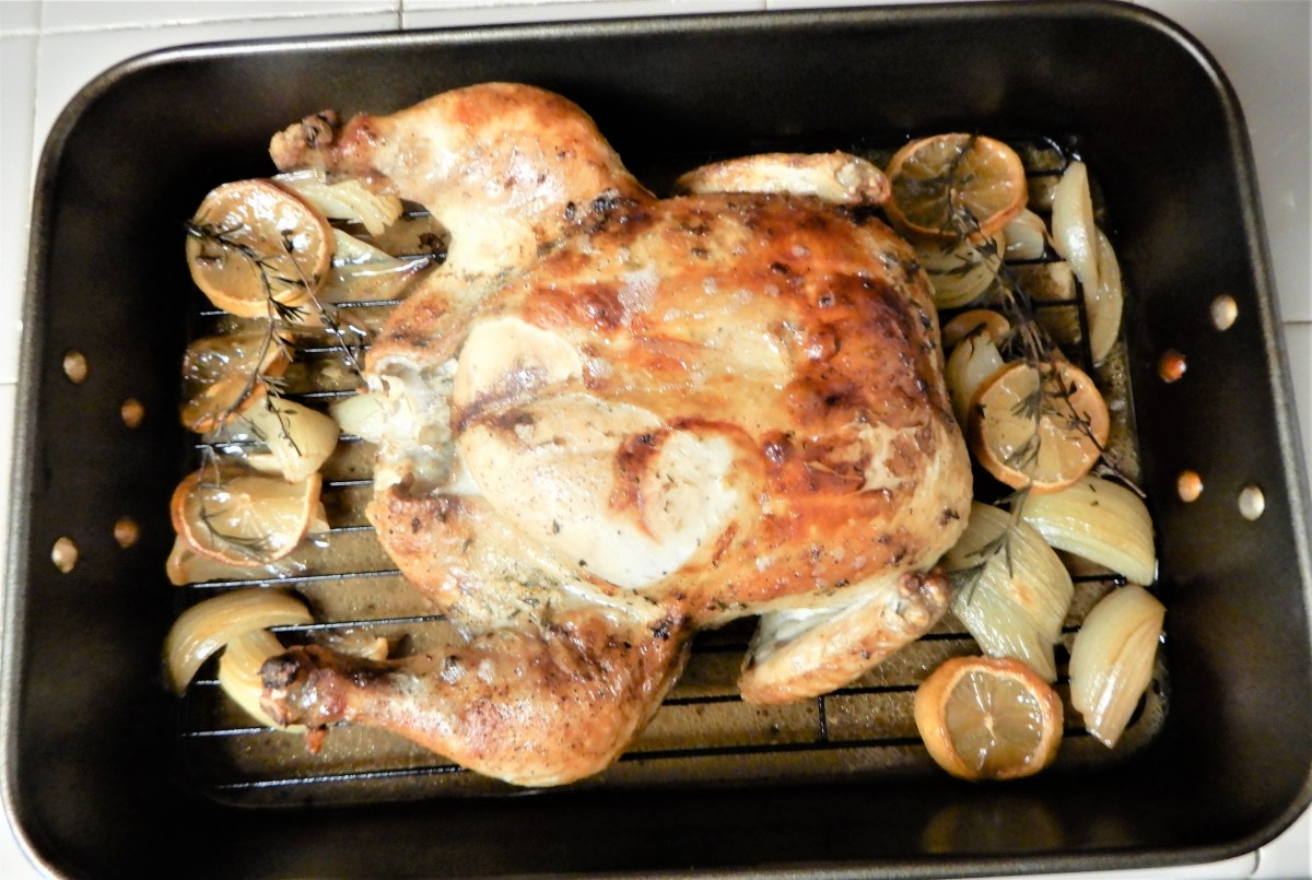 Roast Chicken for the First Sunday of Lent