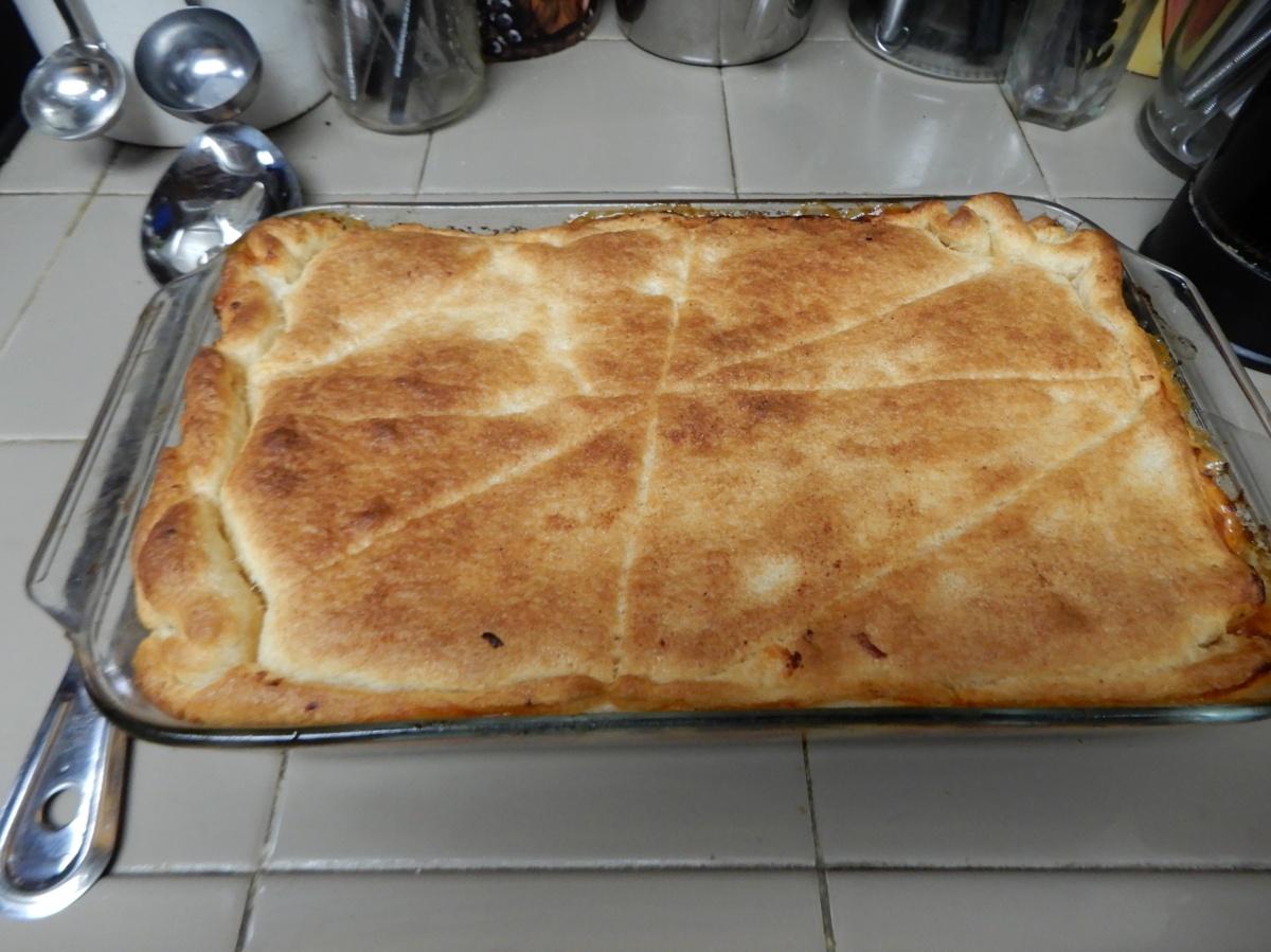 Wow – Cheesy Italian BeefPie