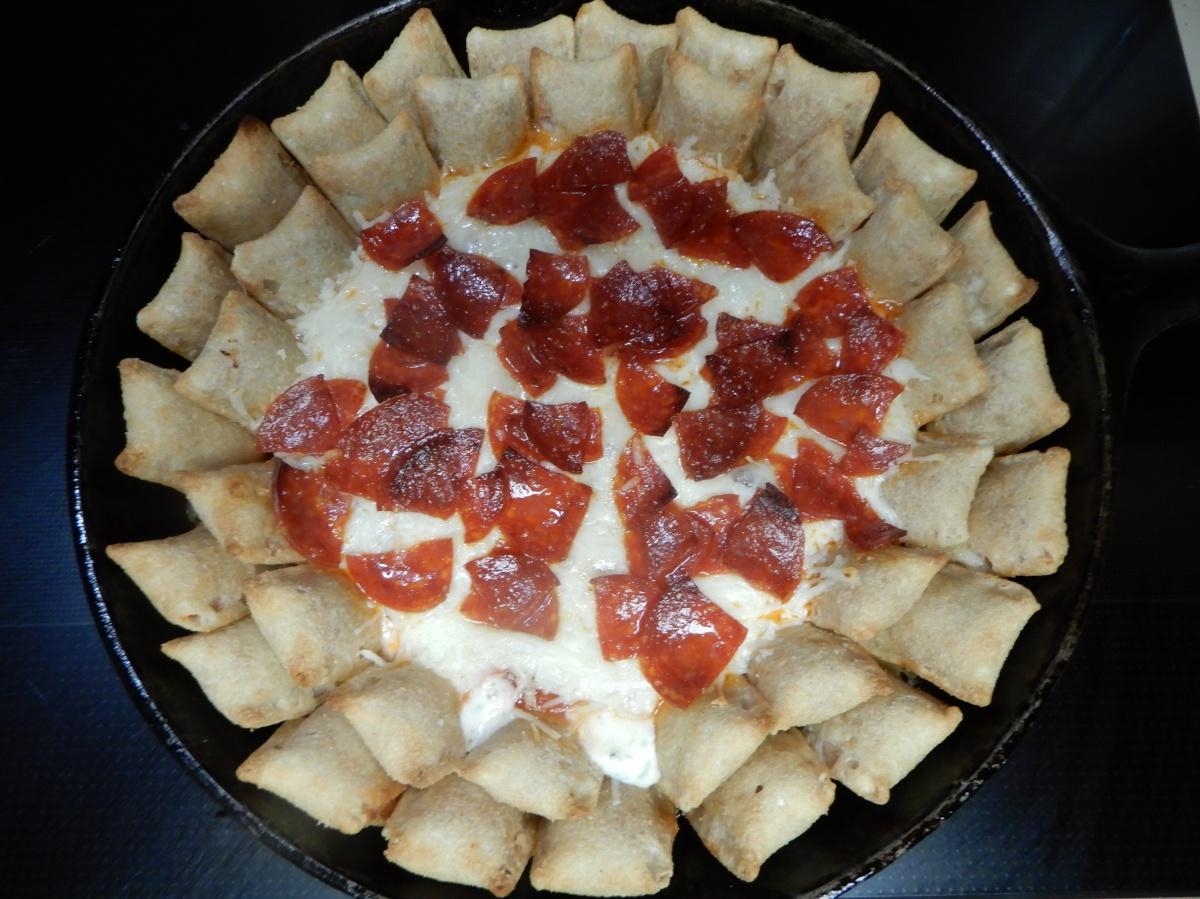 Pepperoni Pizza SkilletDip