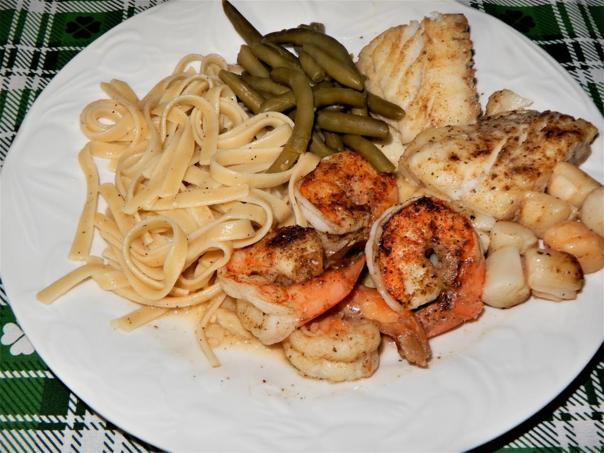 Friday's Seafood MedleyBake