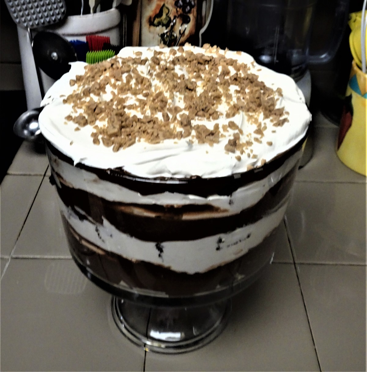 Death by Chocolate Fudge BrownieTrifle