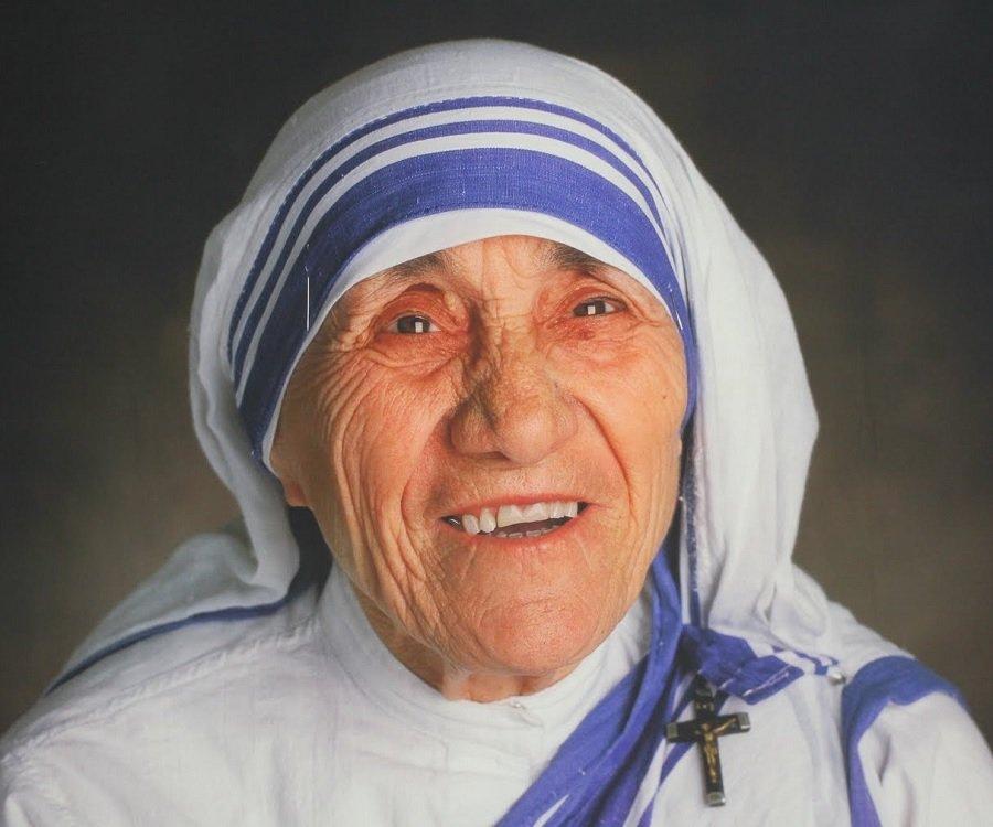 Saint Teresa of Calcutta and a Simple Fire-GrilledPizza